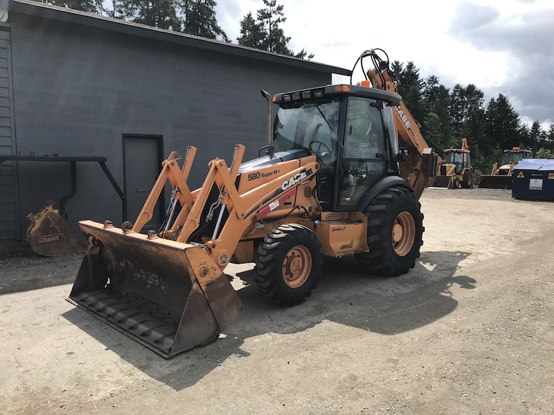 2005 CASE 580 SUPER M+ SERIES 2 - Boss Machinery Ltd